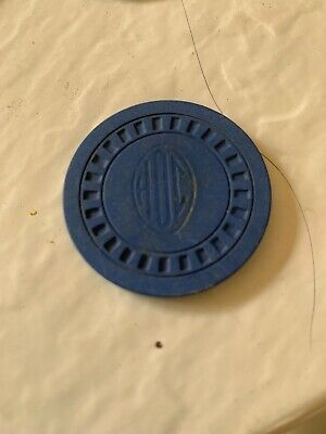 HOC New Orleans casino gaming chip ~ ILLEGAL CLUB