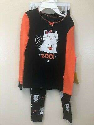 36a59a22f Komar Kids Girl's Toddler Halloween Boo Halloween PJ Pajama Sleep Set, ...