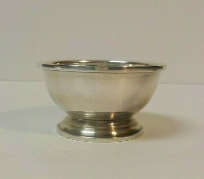 Cartier Sterling Silver Salt Cellar #190, Currier & Roby, 35 grams