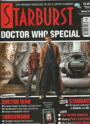 STARBURST SPECIAL Magazine Issue 79 - Doctor Who Special (2007)