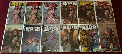 Rags Huge Mega Lot 1-4 Ap Regular, Variant, Reprint & Patreon Covers (Lot Of 12)