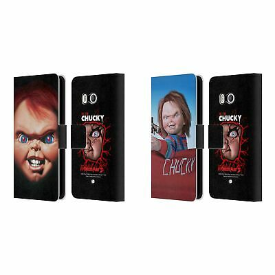 Official Child's Play Iii Key Art Leather Book Wallet Case For Htc Phones 1