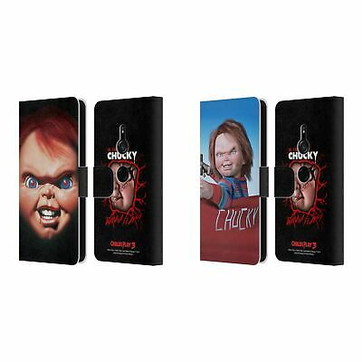Official Child's Play Iii Key Art Leather Book Wallet Case For Sony Phones 1