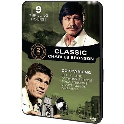 Classic Charles Bronson (2012 DVD, 2-Disc Set) Very Good condition