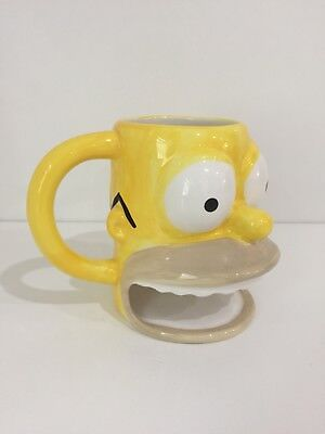 2007 The Simpsons Homer Cookie Holder Mug Cup