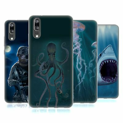 Official Vincent Hie Underwater Soft Gel Case For Huawei Phones