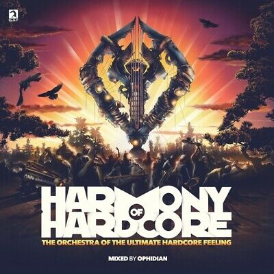 Various - Harmony Of Hardcore 2019 CD (2) Be Yourself NEW