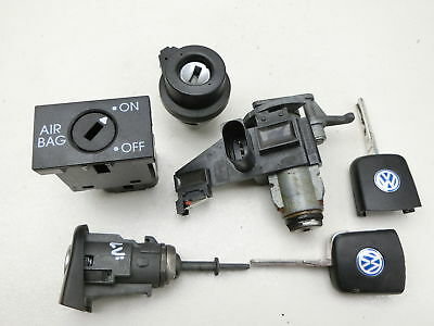 Lock Cylinder Ignition lock Key Locking system for VW Polo 9N 05-09