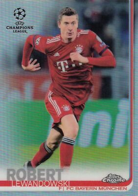 Topps Chrome 2018/19 Champions League Basis Base Refractor Auswahl choose