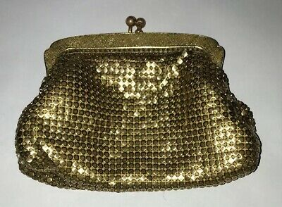 Vintage Oroton Gold Mesh Coin Purse