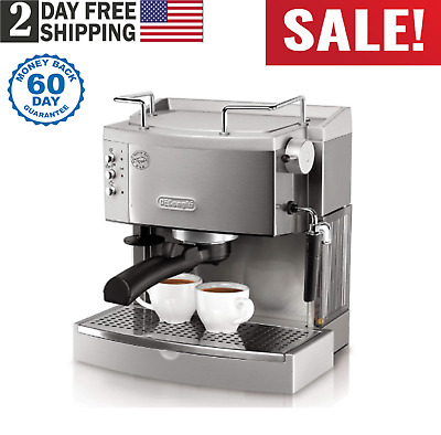 737562b69f Stainless Steel Espresso Maker Commercial DeLonghi Home Electric Coffee  Machine