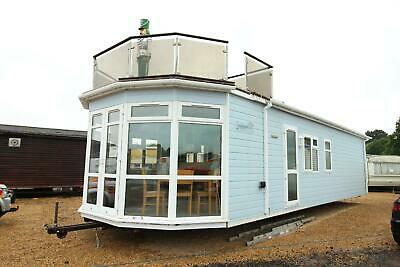 Stately Haulfryn Herald 40x14 Lodge With Roof Terrace - SN 2455