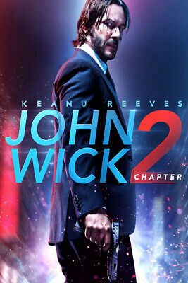JOHN WICK CHAPTER KEANU R, CLOUDS, MOVIE,ART POSTER,FINE ART,PRINT,DECOR from A2