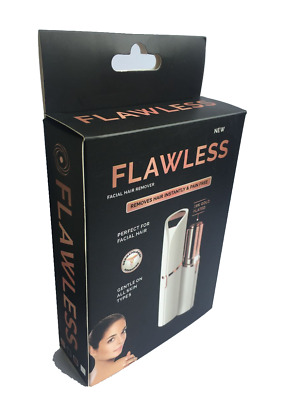 NEW Flawless By Finishing Touch Women's Epilator Hair Remover 18K Gold