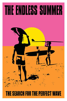 THE ENDLESS SUMMER, MOVIE,ART POSTER,FINE ART,PRINT,DECOR from A1