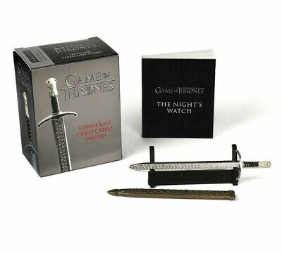 "Game of Thrones: Jon Snow 4"" Longclaw Collectible Mini Sword NIB/Sealed"