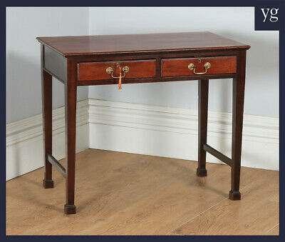 Antique 20th Century Georgian Style Mahogany Occasional Side Hall Writing Table