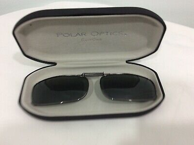 Polar Optic Clip Ons With Case Rectangular Oval Expandable