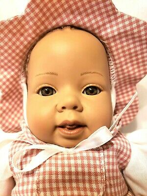 "VTG Heidi Ott Swiss Design Faithful Friends 12.5"" Vinyl Baby Doll"
