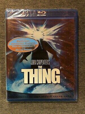 The Thing (Blu-ray Disc, 2008) Authentic US Release