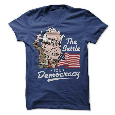 Bernie Sanders Political T-Shirt Tee President 2020 Election Campaign Democracy