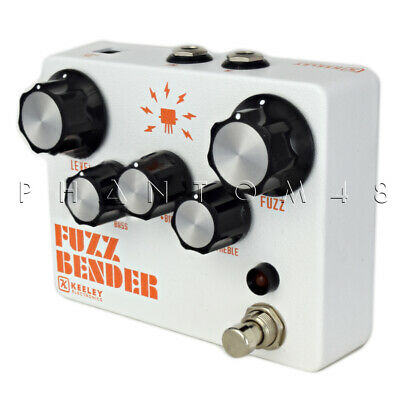 Keeley Fuzz Bender - 3 Transistor Hybrid Fuzz Guitar Effects Pedal - NEW