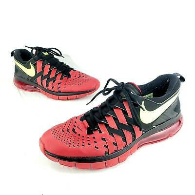 new products 5bfa1 0560d Nike Fingertrap Max Training Shoes Athletic Sneakers Men s Size 11 (Red    Black)