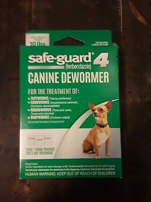 Safe Guard 4 Canine Dewormer 3 Grams 6 Wks Small Dogs