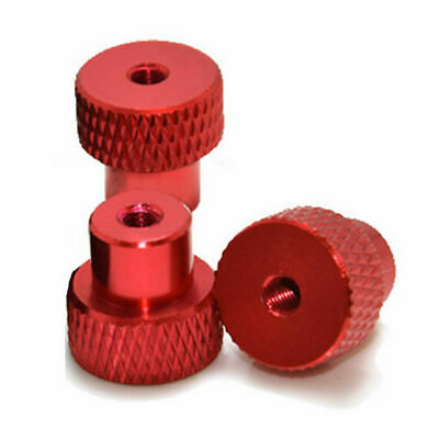 Knurled Thumb Nut Steady Anodizing M4 Fastener for Tripod 6061 Aluminium Alloy