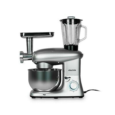 electriQ 5.5L Multifunctional Stand Mixer with Blender and Meat Grin EIQSMMULTIS