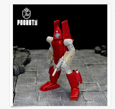"""Pocket Toys Autobots Powerglide Action Figure 6/"""" Toy New in Box"""