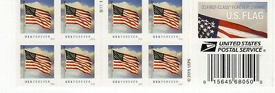 One Book Of 20 U.s. Flag Usps First Class Forever Postage Stamps #S11111