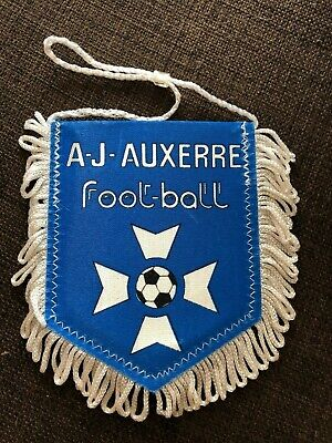 Fanion AJ Auxerre AJA France Foot Football Soccer vintage pennant wimpel