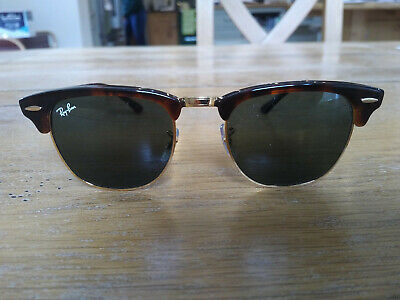 4d7057f3ed Ray-Ban little used Clubmaster Sunglasses RB3016 W0366  LensTortoise/GoldFrame
