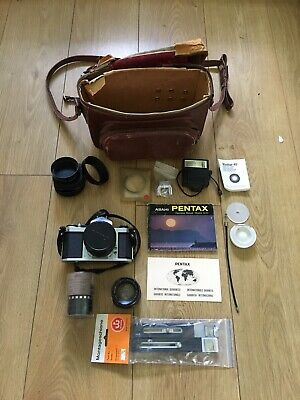 Asahi Pentax camera s3. 35mm & 55mn With Accessories Etc