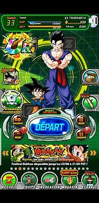 Compte dokkan battle Global fresh, 6 Lr, 240 ds Android