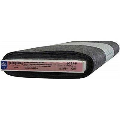 "Pellon Fusible Featherweight Intefacing-charcoal 20""x10yd"
