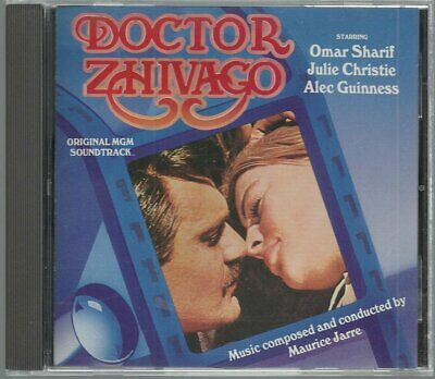 Doctor Zhivago - Original MGM Soundtrack Maurice Jarre (CD) FREE SHIPPING
