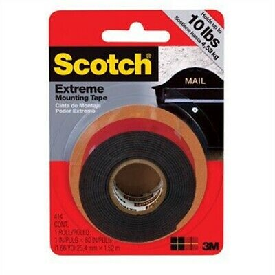"Scotch Extreme Mounting Tape 1""x60""-black"