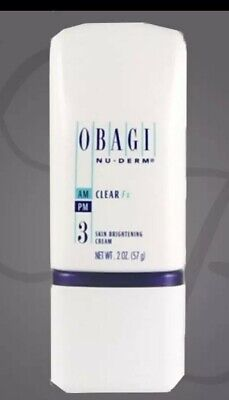 OBAGI NU-DERM CLEAR Fx 2oz SEALED HYDROQUINOIN FREE 100% AUTHENTIC GUARANTEED