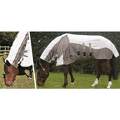 Vente Cheval Fly Moucheron eczéma Combo Tapis Respirant Housse Summer Blanket Zebra taille