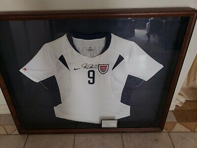 official photos 52744 441ce MIA HAMM AUTOGRAPHED/SIGNED Jersey Steiner COA Team USA ...