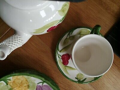 Franciscan Fruit Masons Tea Cup And Saucer Several Available