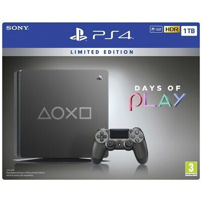 Console Playstation 4 1TB Days Of Plays Limited Edition