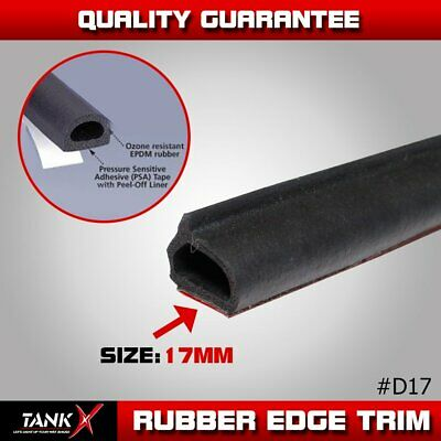 20ft Rubber Seal Strip Trim Car Truck Door Window Edge Weatherstrip Soundproof
