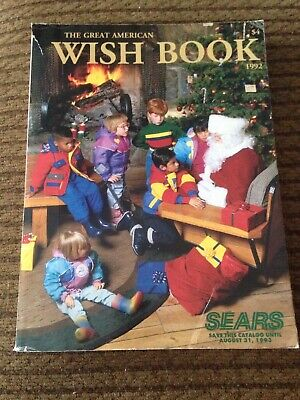 VINTAGE SEARS CATALOG The Great American Wish Book 1992-1993