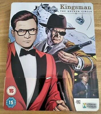 Kingsman The Golden Circle 4K Blu-Ray Steelbook