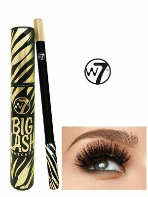 84fbc2fdd35 W7 Big Lash black Mascara lengthening volumising Blackest Black Big Lash  effect