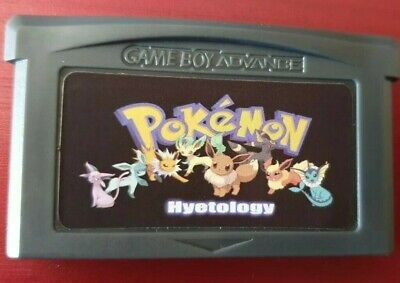 Pokemon Hyetology GBA SP DS GameBoy Advance Game. Emerald Hack UK seller! Red