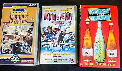 VHS Cassettes Only Fools and Horses-Last of Summer Wine and Kevin & Perry